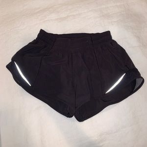 Lulu lemon hotty hot shorts 2.5""